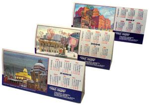 Разработка и изготовление настольных календарей